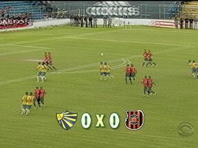Bra-Pel termina em 0 a 0 na primeira final do returno da Copa Sul Fronteira - Jogo de volta acontece nesta terça-feira.