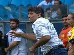 Grêmio e Bahia empataram em um jogo sem gols nesse domingo pelo Brasileirão - Tricolor gaúcho está em terceiro lugar na tabela do campeonato.
