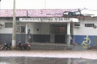 Quatro, dos 16 presos que fugiram da unidade prisional de Balsas foram recapturados - Fuga pode ter sido provocada pela fragilidade na segurança do prédio.