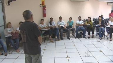Professores participam de treinamento em Porto Velho - Capacitação ajuda no trabalho com dependentes químicos.