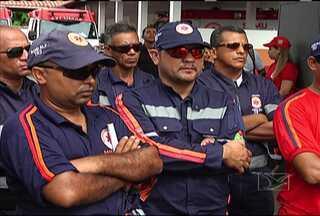 Servidores do Samu fazem paralisação de advertência - Trabalhadores reivindicam melhorias nas condições de trabalho