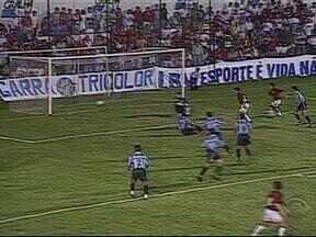 'Baú do Esporte' relembra decisão entre Grêmio e Atlético-PR na Copa do Brasil de 1996 - Tricolor gaúcho se deu melhor nas oitavas de final da competição naquele ano.