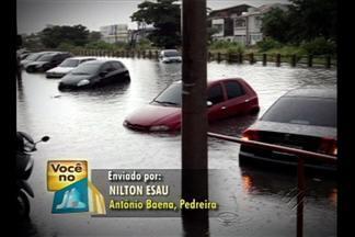 Imagens mostram ruas alagadas após 5 horas de chuva em Belém - Veja as fotos enviadas por telespectadores.