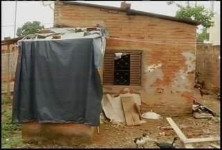Somente em 2013, 246 casas já foram condenadas pela Defesa Civil em Montes Claros - As vistorias foram intensificadas neste período chuvoso.