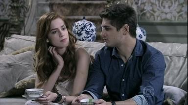 Natasha exige que Lídia não seja tratada como empregada - Leila fica furiosa com a ruiva