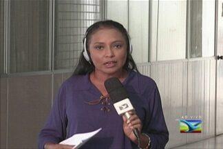 Atentados contra a PM e ações criminosas na capital motivam reunião do Estado - No fim de semana, delegacias e ônibus na região metropolitana de São Luís foram alvo de ataques. A repórter Regina Souza trouxe outras informações.