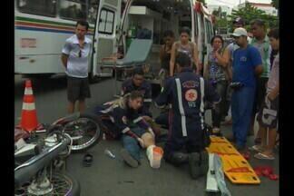 Crescem os acidentes de moto em Campina Grande - Só no fim de semana foram mais de 100 acidentados de moto no Hospital de Trauma da cidade. E a fiscalização diminui exatamente nos fins de semana.