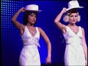 Veja Wanessa Camargo e Angélica sapateando no Jovens Tardes - Programa foi exibido em 2003