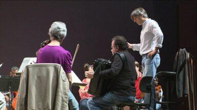 Hoje tem OSP no palco do Guairão - O convidado especial é o francês Richard Galliano, um dos grandes mestres do acordeão.
