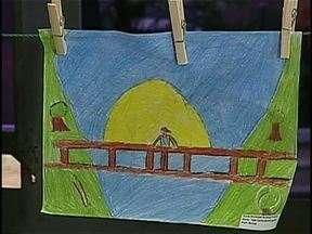 Lago Igapó: concurso seleciona desenhos e fotos - Estudantes do quarto ano do ensino fundamental de escolas de Londrina participaram do concurso.