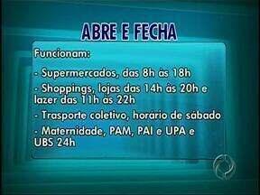 Veja o que abre e fecha neste feriado - Bancos e comércio de rua de Londrina fecham nesta sexta-feira. Shoppings vão abrir.