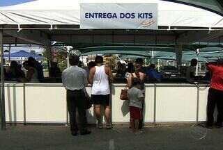 Atletas receberão kits da Volta de Aracaju nesta quinta-feira - Entrega será realizada no estacionamento do Shopping Jardins das 9 às 21h. Confira.