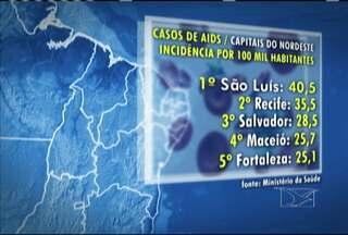 São Luís é a capital do Nordeste com maior incidência de casos de Aids - Dados são do Ministério da Saúde. Apesar de hoje a doença ter tratamento eficaz e acessível no sistema público de saúde, prevenir ainda é o melhor, já que não existe cura.