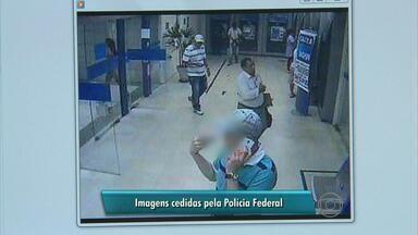 Assaltantes se passam por fiscais de vigilância para assaltar banco no Recife - Três homens são suspeitos de participar de ação em shopping na capital.