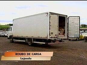 Caminhão é roubado na BR-386, em Lajeado, RS - Ele estava carregado com medicamentos e artigos de perfumaria.