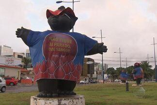 Fundação Hemoba usa ponto turístico de Salvador em campanha por doação de sangue - Fundação Hemoba usa ponto turístico de Salvador em campanha por doação de sangue