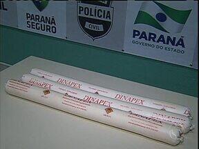 Homens são presos em Maringá com bananas de dinamite - Polícia investiga se eles tem envolvimento com quadrilhas que explodem caixas eletrônicos.