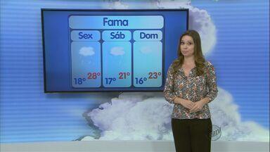 Confira a previsão do tempo no Sul de Minas para essa sexta-feira (22) - Confira a previsão do tempo no Sul de Minas para essa sexta-feira (22)