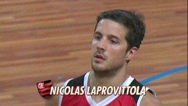 Jogador de basquete do Flamengo faz 30 pontos no Palmeiras e é o cestinha da NBB - Nicolas Laprovittola foi o craque do jogo da última quinta-feira.