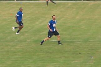Bahia realiza treino secreto para a partida deste domingo - O técnico Cristóvão Borges vai armar um time diferente, com três zagueiros.