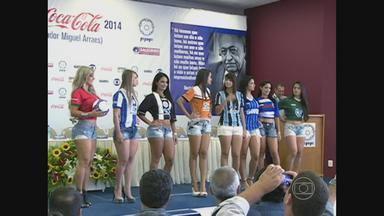 Federação Pernambucana de Futebol lança o Estadual 2014 - Cerimônia aconteceu em Salgueiro