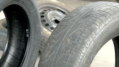 Preço do pneu varia mais de 70% em Belo Horizonte - Pesquisa mostrou variações de preços ainda maiores na hora de balancear e alinhar o veículo.