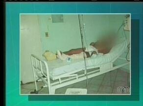 Pacientes flagram más condições do Hospital Regional de Araguaína - Pacientes flagram más condições do Hospital Regional de Araguaína