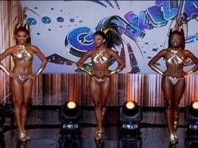 Três finalistas passam pela última etapa para escolha como nova Globeleza - Há pouco mais de um mês, Camila, Nara e Nayara tinham outros planos para a carreira. No entanto, a vida de uma das três finalistas vai se transformar.