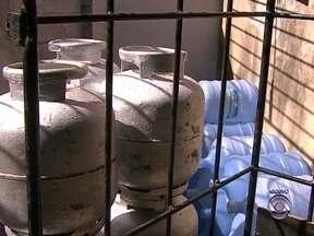 Bombeiros fiscalizam revendas de gás para garantir segurança dos consumidores - Bombeiros fiscalizam revendas de gás para garantir segurança dos consumidores