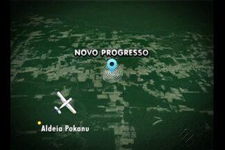 Corpos de índios Kaiapó que estavam em avião que caiu serão enterrados em aldeia - Um avião bimotor que prestava serviços para o Dsei caiu próximo ao município de Novo Progresso.