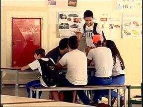 Pesquisa revela que estudantes estão acima do peso - Segundo os dados, 23% dos alunos das escolas públicas de Londrina e região estão nesta condição. Índice de obesidade é de 6,8%.