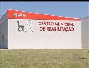 Novo centro de reabilitação de Cabo Frio, RJ, está pronto e sem funcionar - Local atenderá até 10 mil pessoas por mês. Prefeitura não informou quando centro atenderá a população.