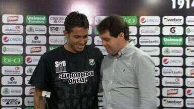 Evandro Leitão anuncia Assisinho e novo patrocinador - Presidente alvinegro comentou sobre contratações e pretensões para 2014.