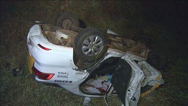 Morre segunda vítima de acidente com carro da Polícia Rodoviária em Serrana - Colisão aconteceu na Rodovia Abrão Assed.