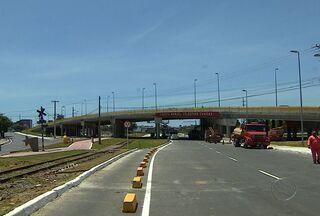 Governo vai liberar totalmente o trânsito no viaduto do Detran - Governo vai liberar totalmente o trânsito no viaduto do Detran