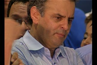 Lideranças do PSDB participaram de um encontro nacional em Belém - O senador Aécio Neves participou do encontro.