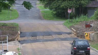 Calendário do ParanáTV: ponte no Boa Vista é reformada - Moradores e motoristas reclamavam da spéssimas condições no local.