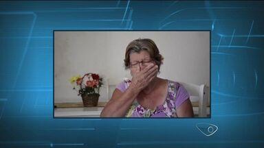 """Em vídeo, mãe diz que comprar R$ 20 de crack por dia para filho, no ES - """"Eu não tenho mais forças e não aguento mais essa vida"""", relatou a idosa."""