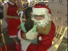 Fim de ano com muitas apresentações e festas para a criançada - Muitas atividades de natal estão movimentando os moradores de Foz do Iguaçu e Santa Terezinha de Itaipu.