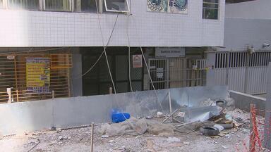 Obra em prédio onde operário caiu e morreu é interditada - Polícia Civil vai investigar as causas do acidente.
