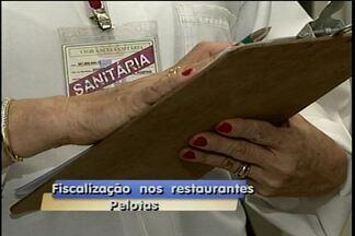 Vistoria nos restaurantes - Até o fim do mês vigilância fiscaliza 61 estabelecimentos