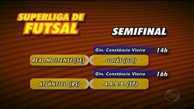 Confira os confrontos da semifinal na Superliga de Futsal - Confira os confrontos da semifinal na Superliga de Futsal. Assista ao vídeo.