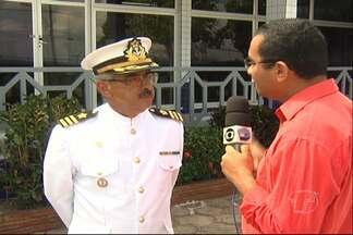 Capitania fluvial comemora dia do marinheiro com homenagens - A programação destacou personalidades que contribuíram para o trabalho da marinha em 2013.
