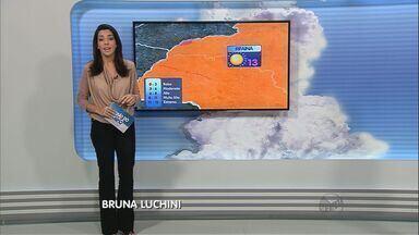 Confira a previsão do tempo para este sábado na região de Ribeirão Preto - Temperaturas devem ultrapassar 30 graus em toda a região.