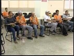 Força tarefa de combate à dengue foi realizada pela 5ª vez em Valadares - Agentes de edemias participaram de treinamentos.