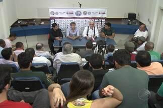 Novo técnico e diretor de futebol do Bahia são apresentados - Marquinhos Santos vai comandar o time e William Machado vai dirigir o clube.