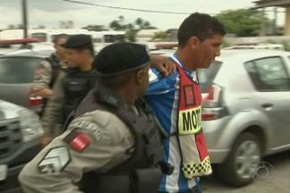 Acusados de matar PM em Campina Grande são presos - Houve muita comoção no velório do policial.