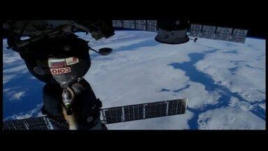 Estudante de cinema edita imagens captadas na Estação Espacial Internacional - Estudante de cinema edita imagens captadas na Estação Espacial Internacional