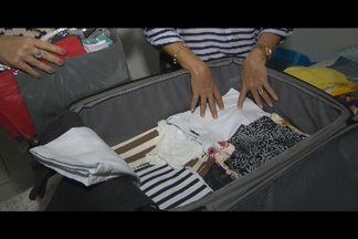 Saiba o que priorizar na hora de fazer a mala das férias - A consultora em organização, Marina Souto Maior, dá as dicas para fazer as malas sem excessos.