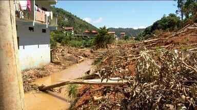 Município de Santa Maria de Jetibá, no ES, é castigado pela chuva - Produtor rural falou sobre problemas enfrentados.
